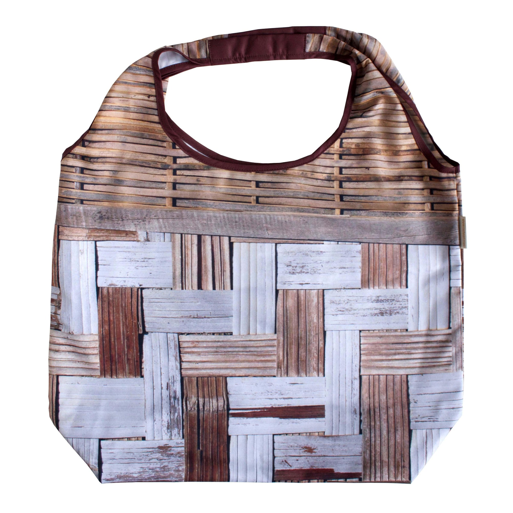 Bamboo Wall Foldable Tote Bag