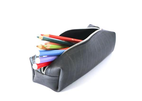 "Black Tyre Pencil Case-Accessories-Friends ""N"" Stuff-Temples and Markets"