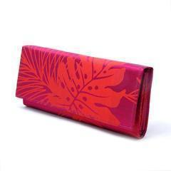 Bold Print Silk Purse-Khmer Creations-Temples and Markets