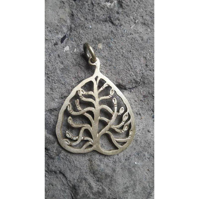 Brass Tree of Life Pendant-Angkor Bullet Jewellery Cambodia-Temples and Markets