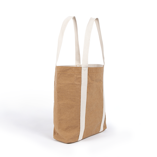 4b019da2037 Ella light camel tote bag made from washable paper an eco friendly  alternative to leather bags