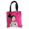 Eugenie Darge Miss Hong Pink Portrait Tote Bag-EUGENIE DARGE-Temples and Markets