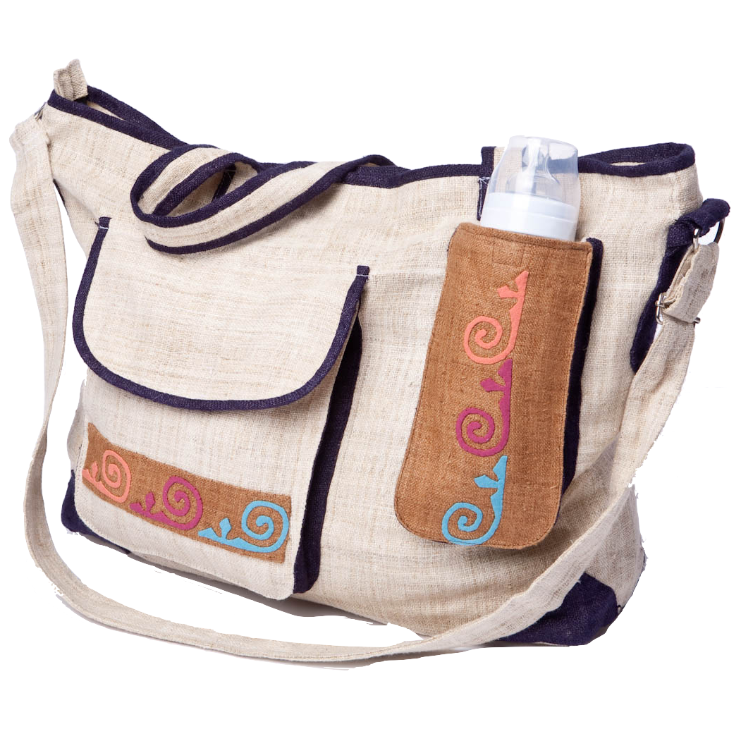 Family Circles Mummy Bag-Villagecraft Planet-Temples and Markets