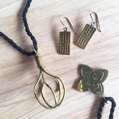 Four Pointed Pendant-Ammo Designs-Temples and Markets