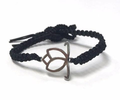 Freedom Single Band Bracelet with Lotus Charm-Senhoa-Temples and Markets