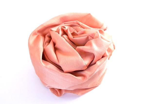 Friends 'n' Stuff Peach Coloured Silk Scarf