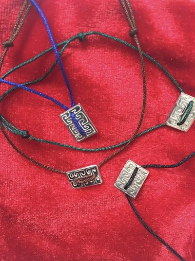 Friendship bracelets featuring Silver Hmong Dream Motif-Future Traditions-Temples and Markets