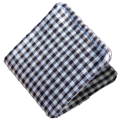 Gingham Wallet-Human and Hope Association-Temples and Markets