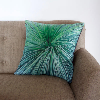 Grass Tree Cushion Cover-CUSHnART-Temples and Markets