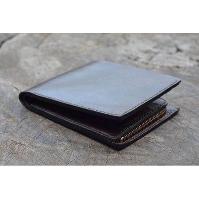 Handmade Leather Wallet and IPhone Case Set - the Perfect Gift for Him-Lotussilk Leather Accessories-Temples and Markets