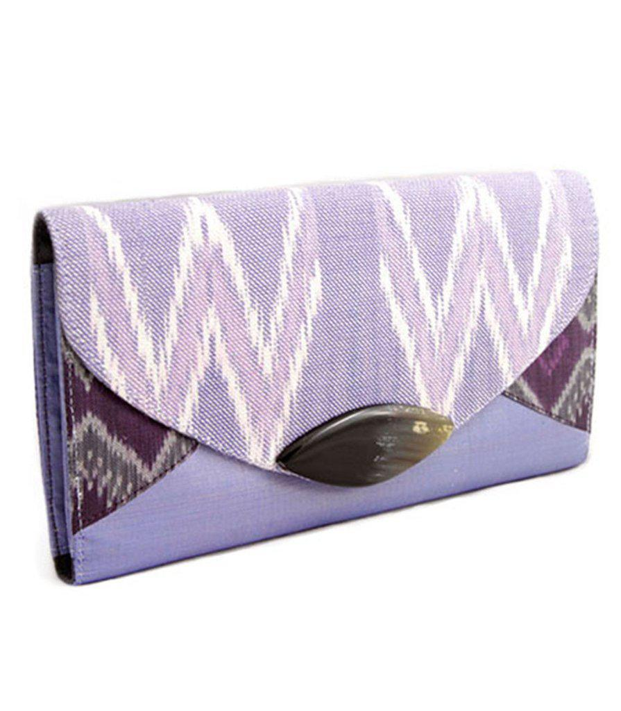 Ikat Clutch Bag-Khmer Creations-Temples and Markets
