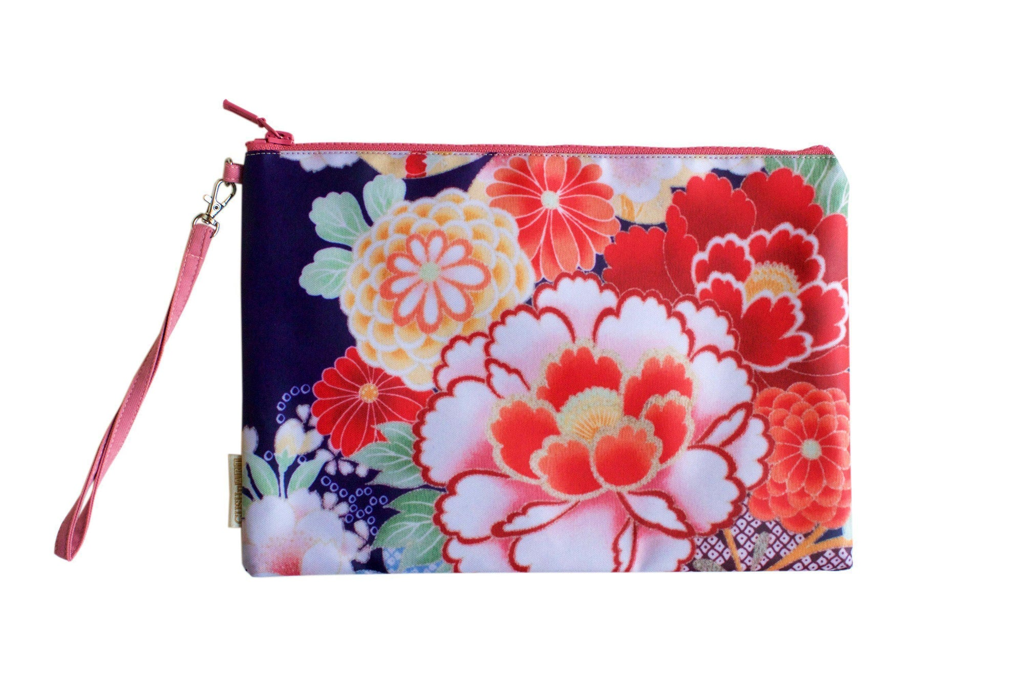 Kimono Water Resistant Clutch-CUSHnART-Temples and Markets