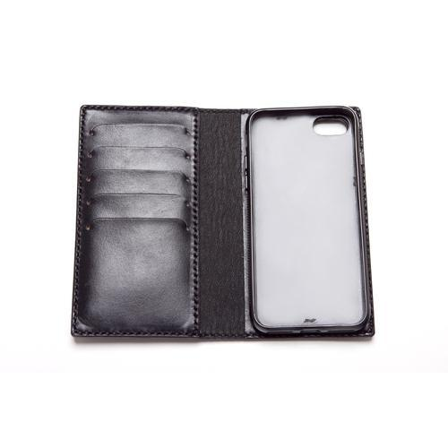 Leather iPhone Flip Case - choose IP7, IP8, IPX and choose your colour