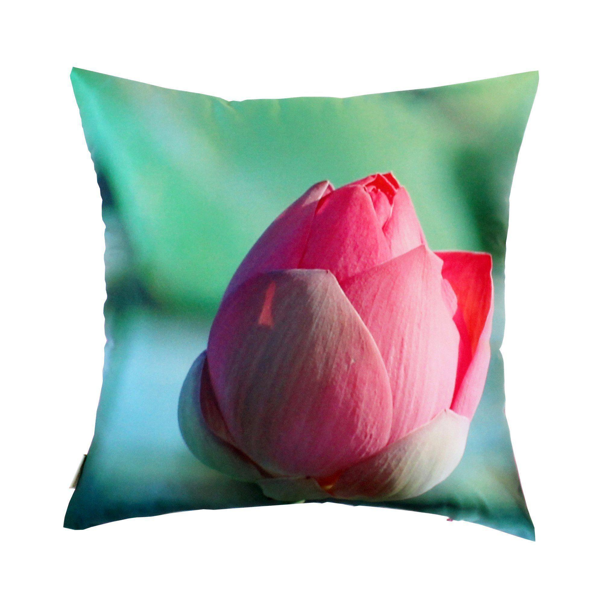 Lotus Bud Cushion Cover-CUSHnART-Temples and Markets