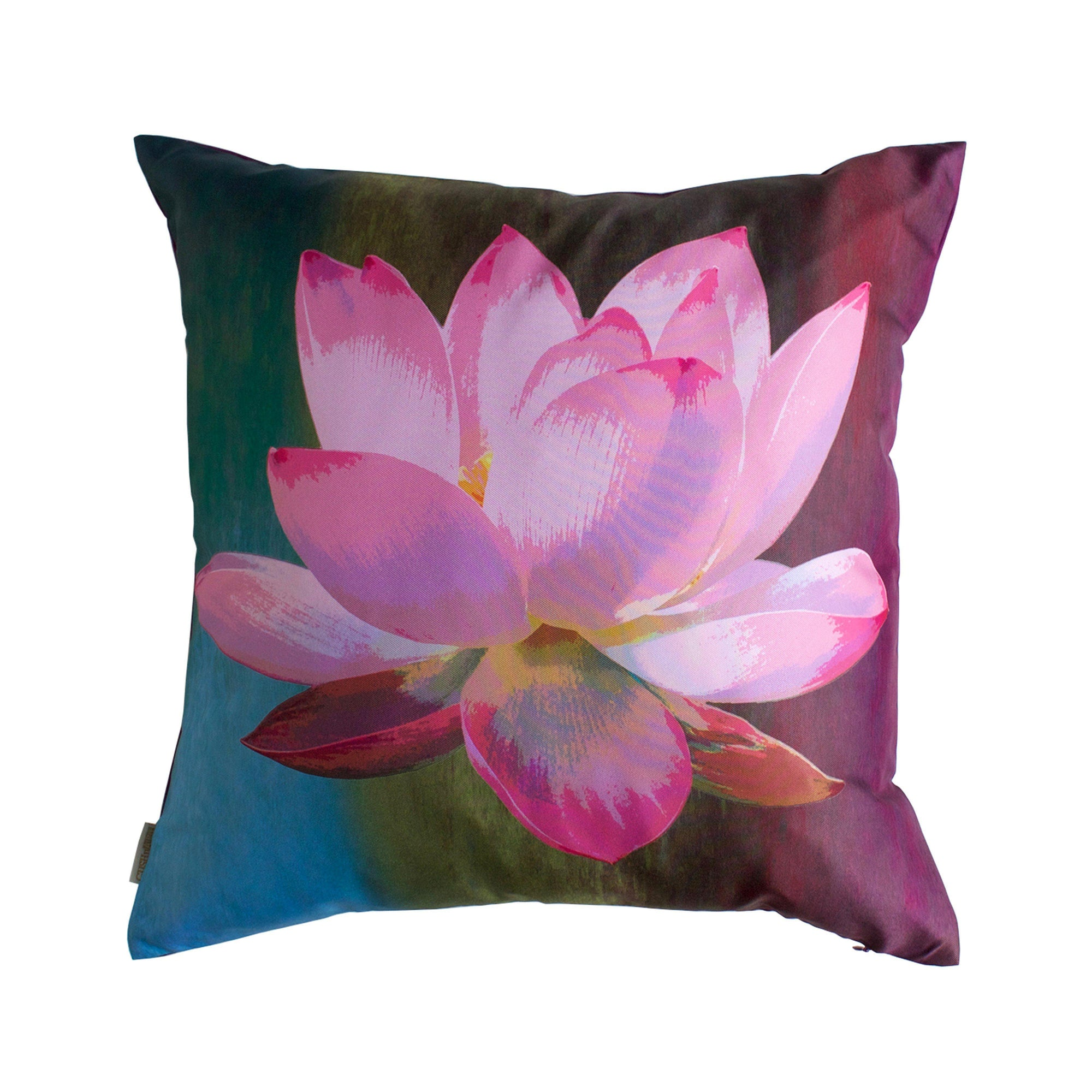 Lotus De Luxe Cushion Cover-CUSHnART-Temples and Markets