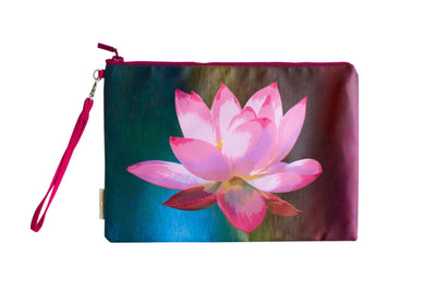 Lotus de Luxe Water Resistant Clutch-CUSHnART-Temples and Markets