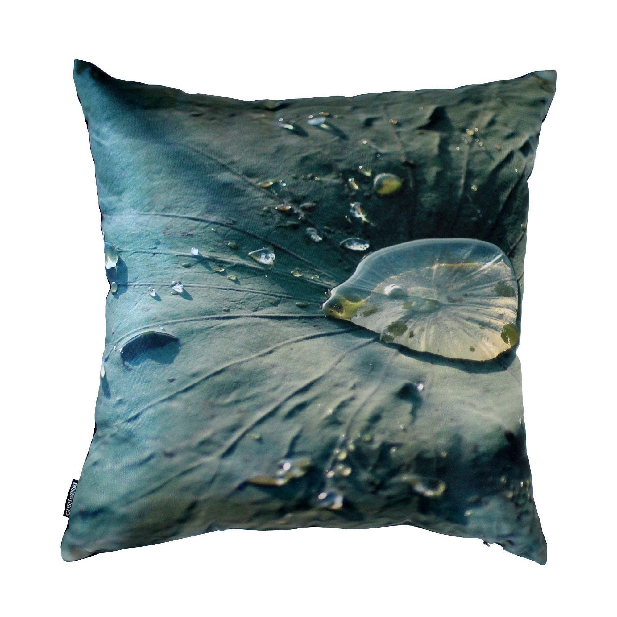 Lotus Leaf Cushion Cover-CUSHnART-Temples and Markets