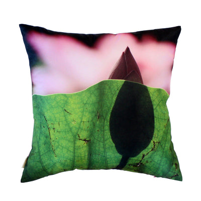 Lotus Shadow Cushion Cover-CUSHnART-Temples and Markets