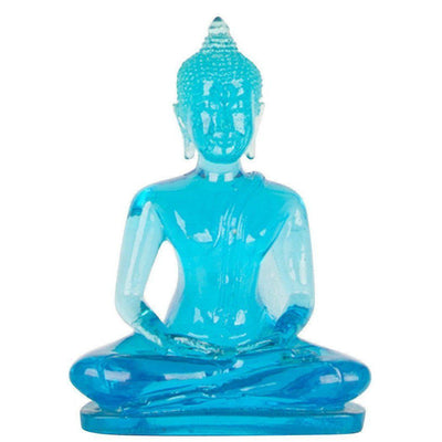Lucky Buddha Statue - Resin Sitting Buddha-Hong Shop-Temples and Markets