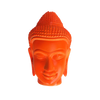 Mango Wood Fluoro Buddha Head-WA Gallery-Temples and Markets