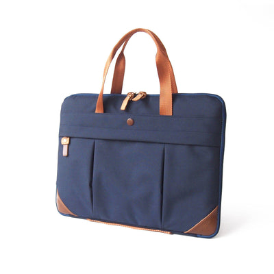 Mat Archer Blend Unisex Waterproof Laptop Bag with Leather Handles-Mat Archer-Temples and Markets