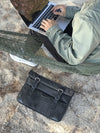 Mat Archer Retrieve Laptop Bag featuring recycled fishing net-Mat Archer-Temples and Markets