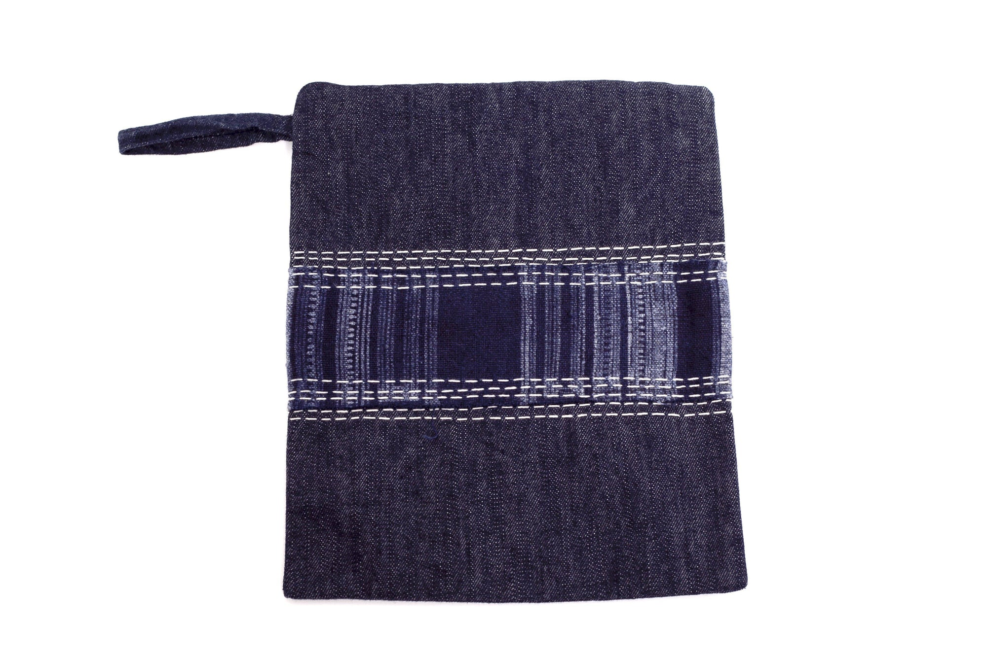 Mekong Plus Denim Multi-Purpose Clutch or Accessories Bag
