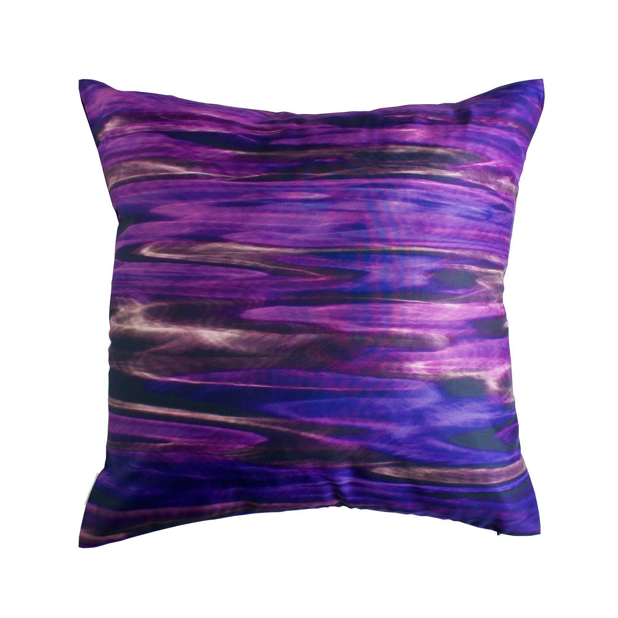 Night River Purple Cushion Cover-CUSHnART-Temples and Markets