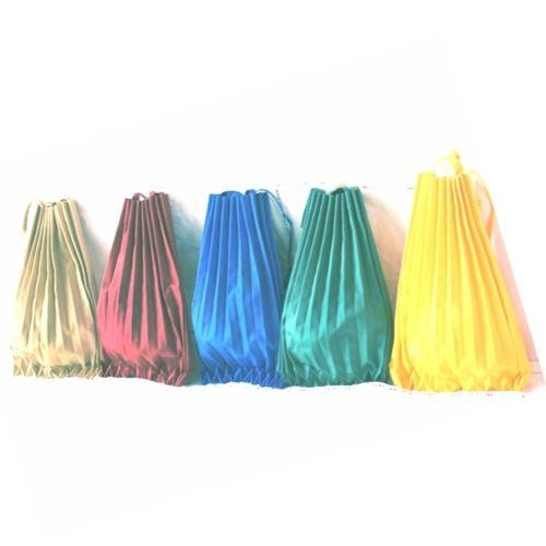 Pleated Canvas Shoulder Bag in a variety of striking colours