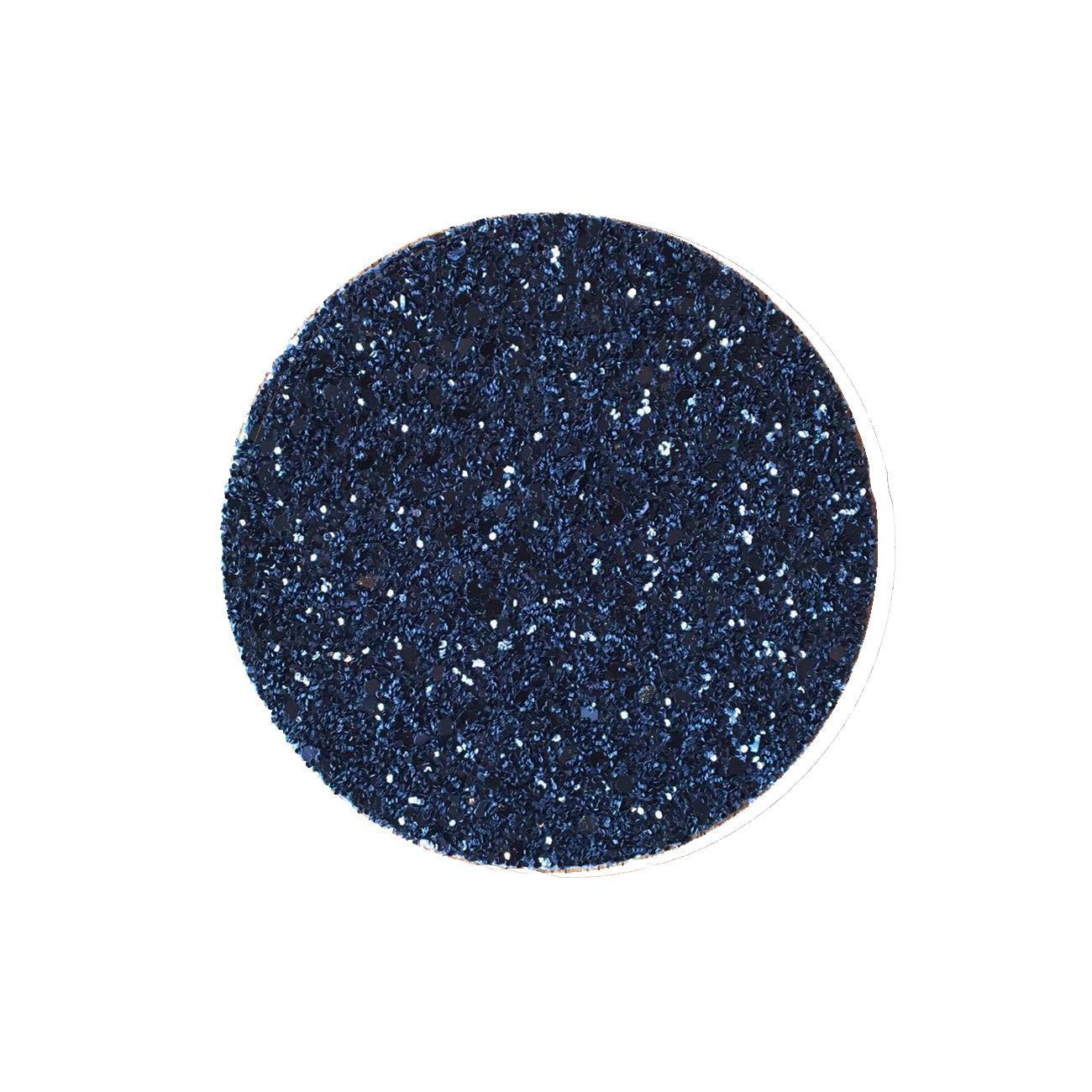 Shimmery Black Round Coaster-ML Living-Temples and Markets