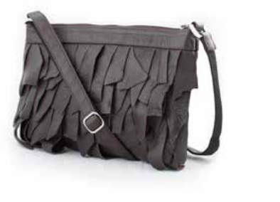 "Smateria Diva ""Canvas"" Black Leather Bag-Smateria-Temples and Markets"