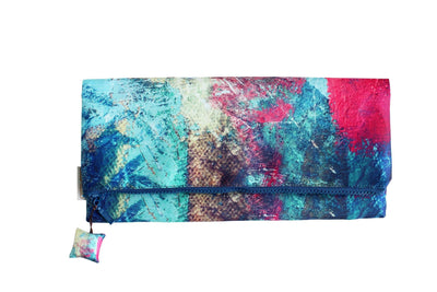 Splash Paint Evening Clutch Bag-CUSHnART-Temples and Markets
