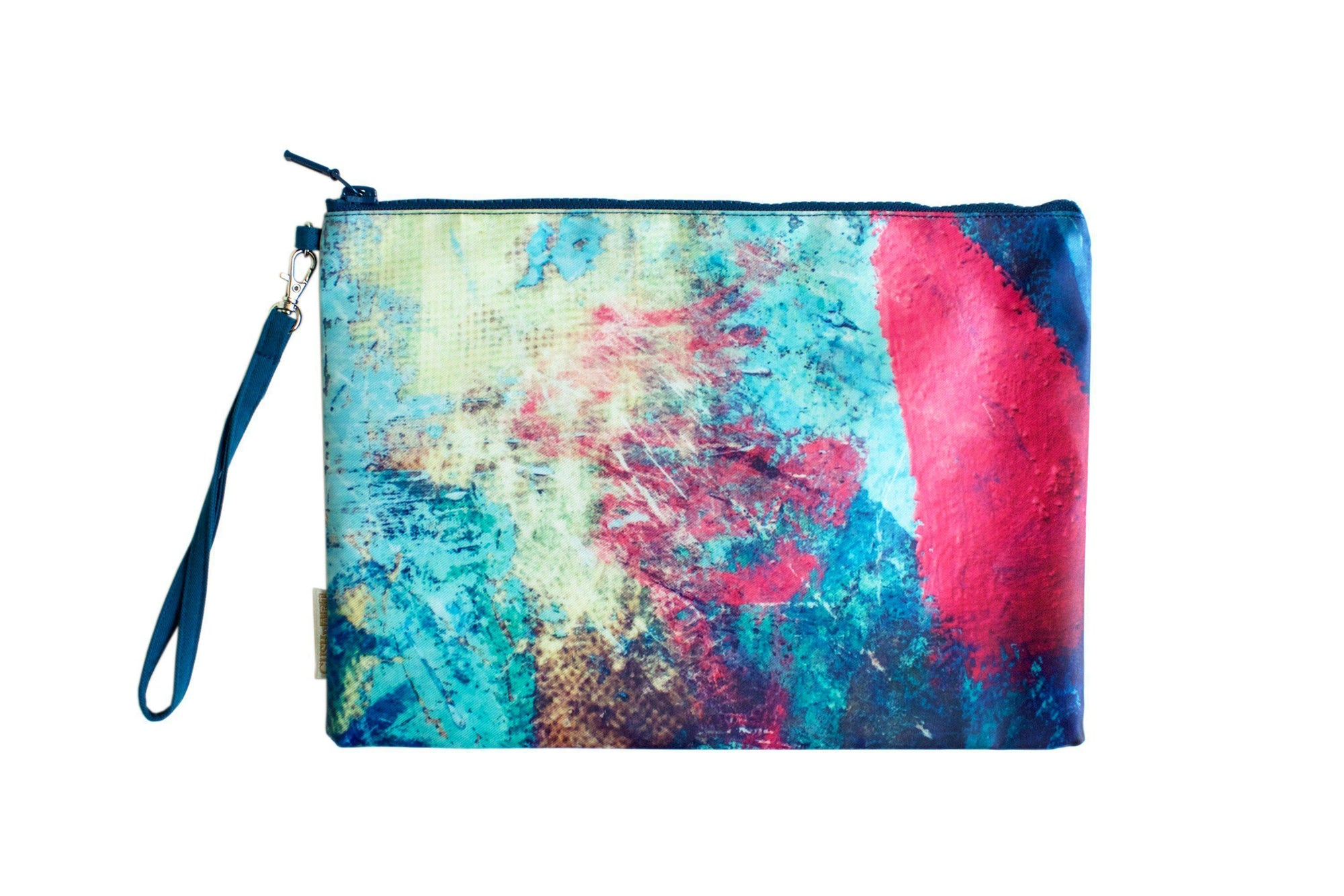 Splash Paint Water Resistant Clutch-CUSHnART-Temples and Markets