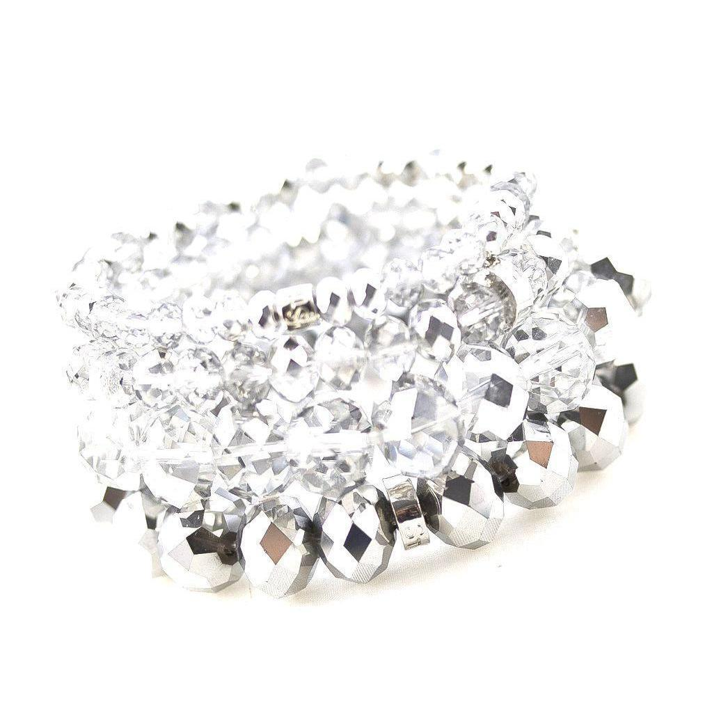 Stones that Rock Chinese Crystal Mirrored Bracelet-Stones that Rock-Temples and Markets