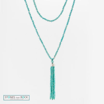 Stones that Rock Gigi Tassel Necklace-Stones that Rock-Temples and Markets