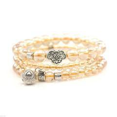 Stones that Rock Gold Esther Multi-Band Wrap Bracelet-Stones that Rock-Temples and Markets
