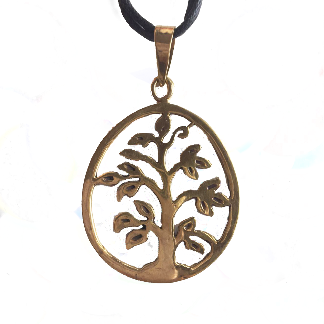 Tree of Life Brass Pendant-Angkor Bullet Jewellery Cambodia-Temples and Markets