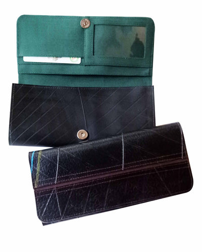 Upcycled Multifunctional Purse made from tyre inner tubing-SmartCraft Khmer-Temples and Markets