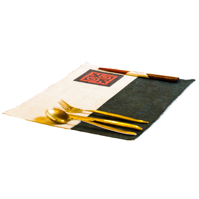 Yin and Yang Placemat-Villagecraft Planet-Temples and Markets