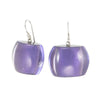 Zsiska Bellissima Resin Bead Drop Earrings in a choice of colours-Jewellery-Zsiska-Purple-Temples and Markets