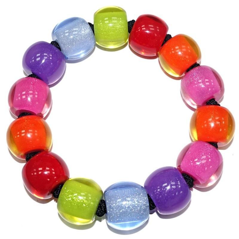 Zsiska Colourful Beads Spectrum Bracelet-Jewellery-Zsiska-Temples and Markets