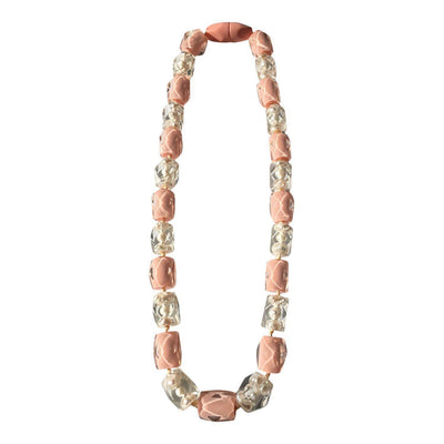 Zsiska Frozen Pearls Necklace-Jewellery-Zsiska-Pink-25-Temples and Markets