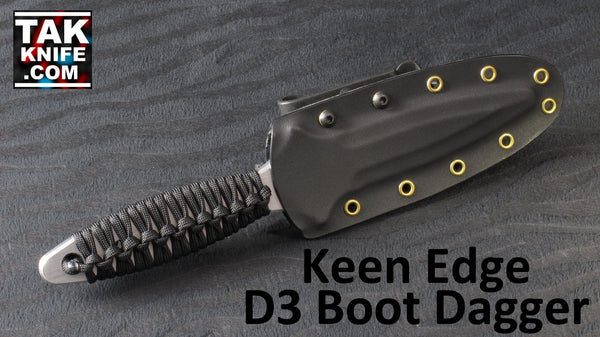 Keen Edge D3 Training Dagger