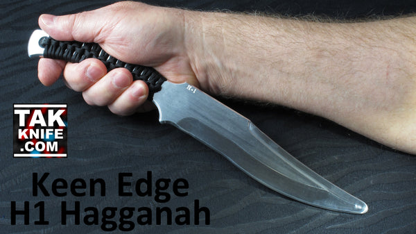 Keen Edge H1 Hagganah Training Knife