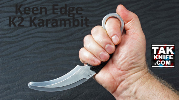 Keen Edge K2 Medium Training Karambit