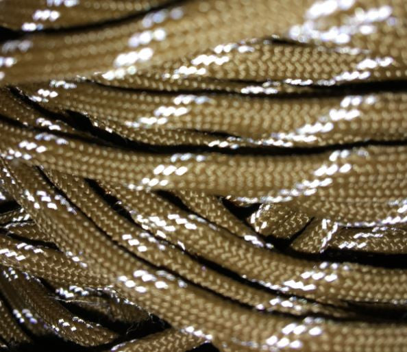 550 Reflective Coyote Brown Paracord