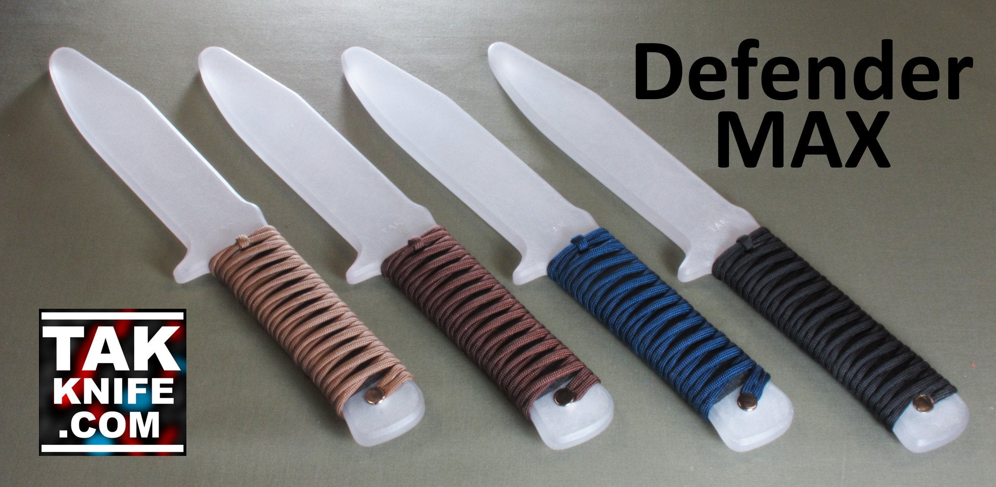 TAK Defender MAX Training Knife