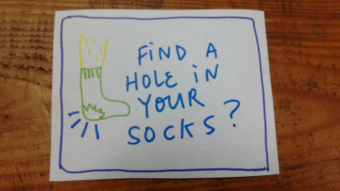 Find Sock Holes
