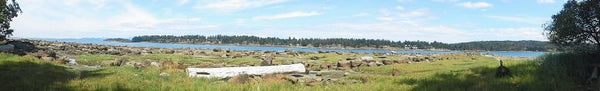 Panorama of Nanoose Bay