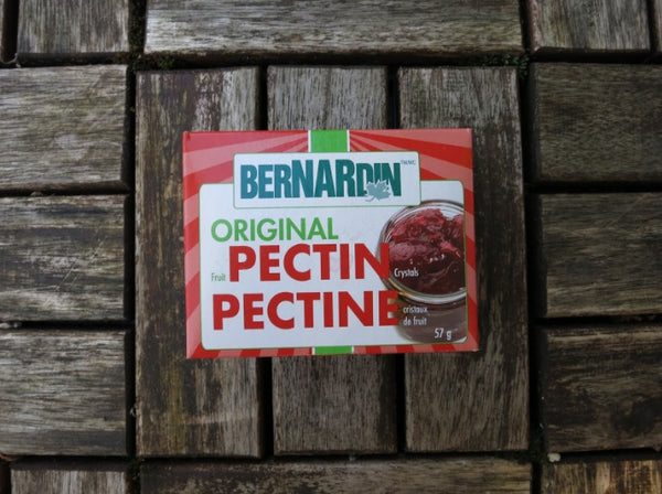 Bernardin Pectin makes a great homemade strawberry jam